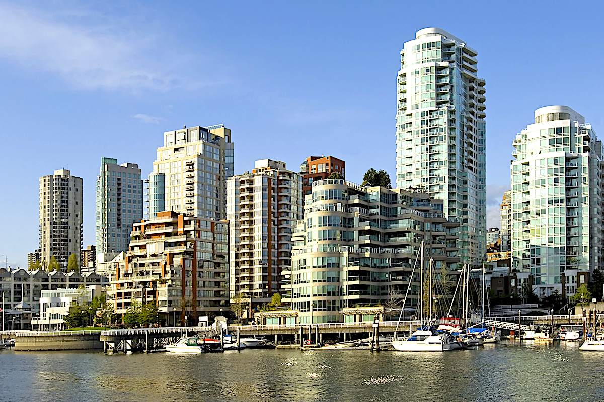 Granville Island offers marinas, restaurants and a public market